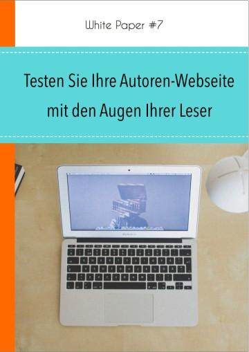 Checkliste: Testen Sie Ihre Autorenwebseite