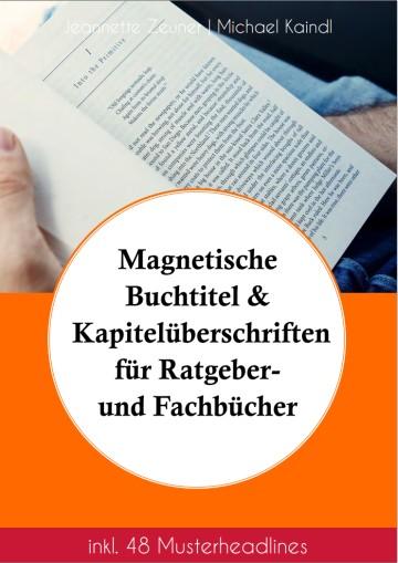 Magnetische Buchtitel und Kapitelüberschriften